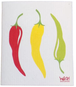 Wet-It! Peppers Swedish Cloth