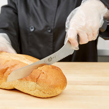 "Load image into Gallery viewer, Victorinox Fibrox Pro 7.5"" Offset Serrated Bread/Sandwich Knife"