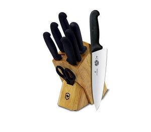 Victorinox Fibrox 8-Piece Block Set