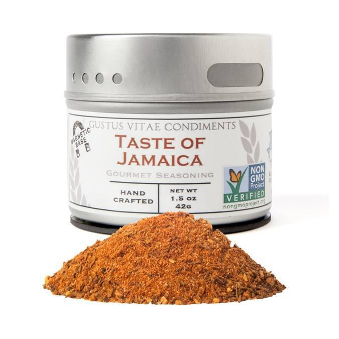 Gustus Vitae Taste of Jamaica Seasoning