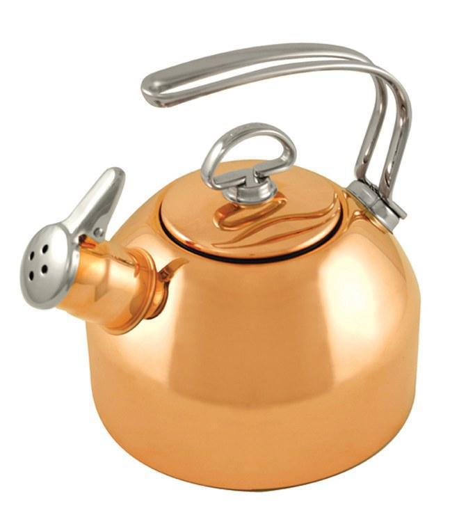 Chantal Copper Classic Teakettle (1.8 Qt.)