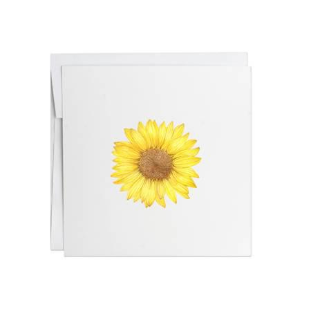 Potting Shed Creations Sunflower Greeting Card