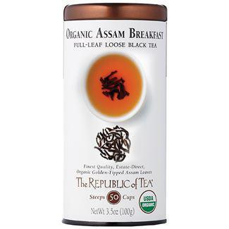 Republic of Tea Organic Assam Breakfast Black Full-Leaf Tea