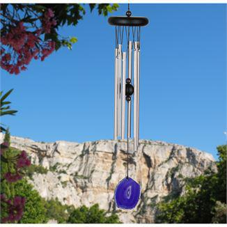 Woodstock Wind Chime Agate Chime - Purple