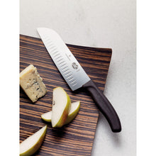 Load image into Gallery viewer, Victorinox Fibrox® Pro Santoku Knife 7""