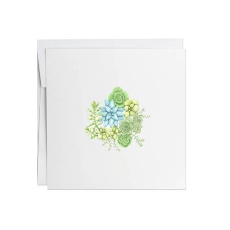 Potting Shed Creations Sedum Greeting Card