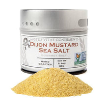 Load image into Gallery viewer, Gustus Vitae Dijon Mustard Sea Salt