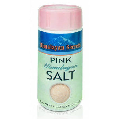 4 oz Edible Himalayan Dark Pink Salt - Fine Shaker