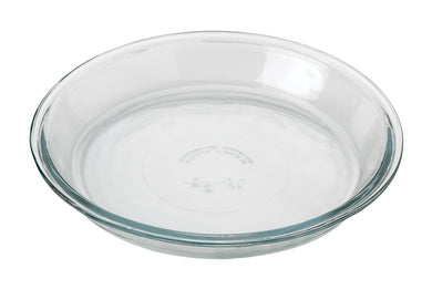 Anchor Glass Pie Plate, 9in