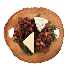 Load image into Gallery viewer, Rustic Farmhouse™ Acacia Wood Cheese Board by Twine