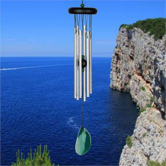 Woodstock Wind Chime Agate Chime - Green