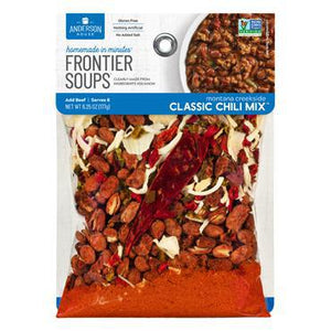Frontier Soups: Montana Creekside CLASSIC CHILI