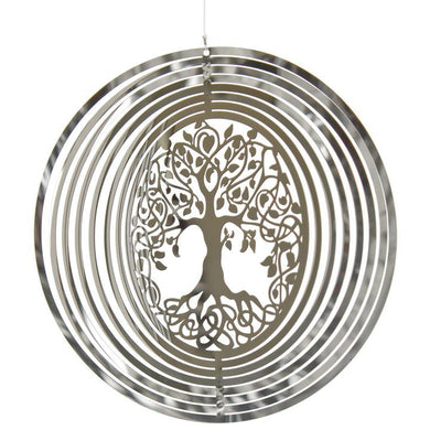 Woodstock Wind Chime Shimmers - Tree of Life
