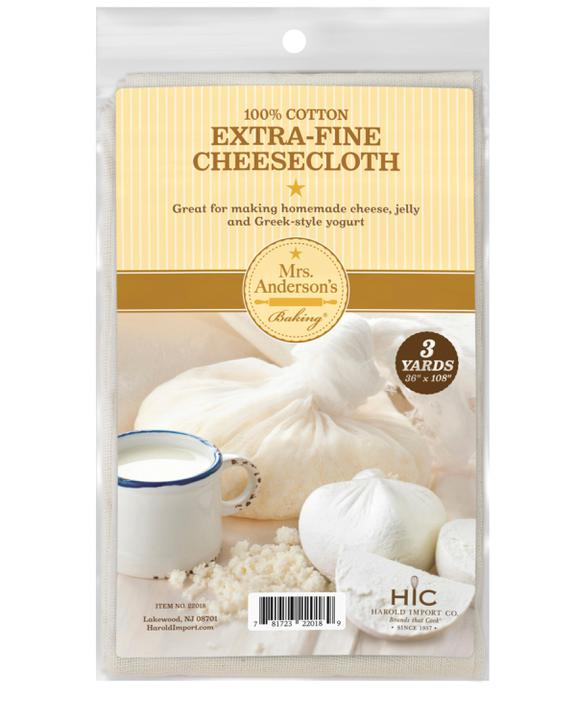 Mrs. Anderson's Baking Cheesecloth, 3 Yards