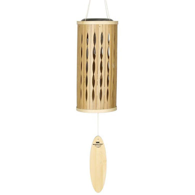 Woodstock Wind Chime Aloha Solar Chime - Natural