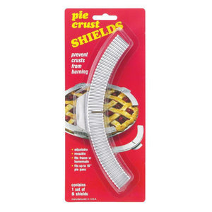 Pie Crust Shield - Adjustable