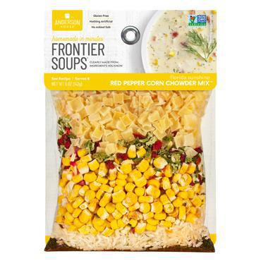 Frontier Soups: Florida Sunshine Red Pepper Corn Chowder Mix