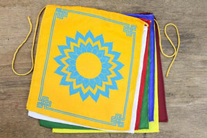 Seven Chakra Energy Prayer Flags