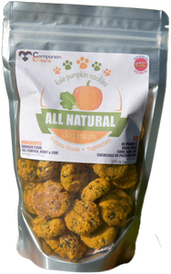 Kale Pumpkin Cookies Dog Treats 6oz