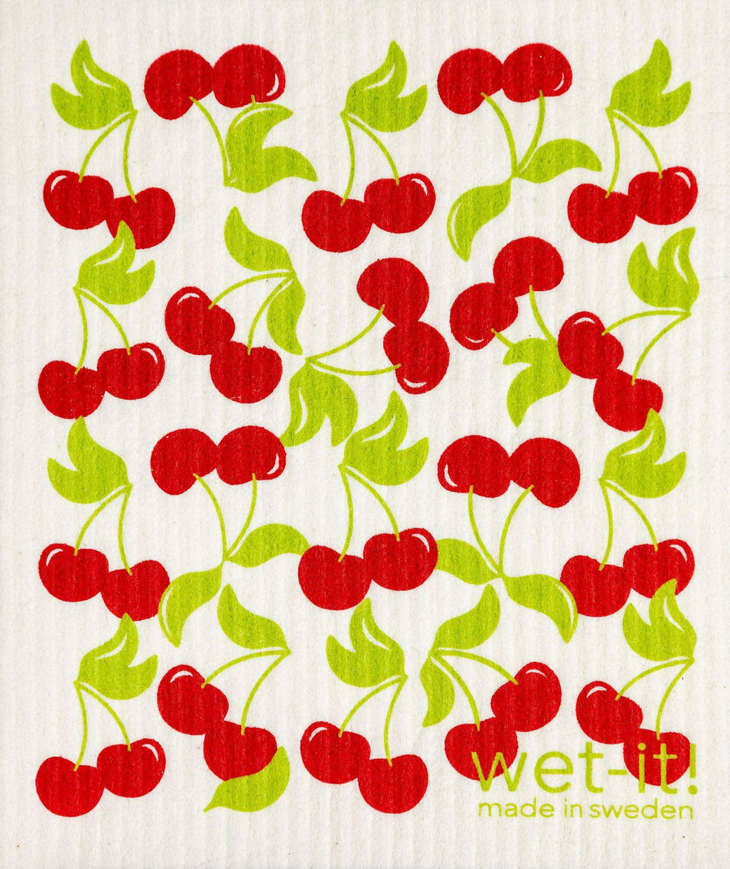 Wet-It! Sweet Cherries Swedish Cloth