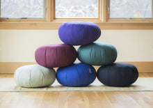 Load image into Gallery viewer, Carolina Morning Zafu Meditation Cushions