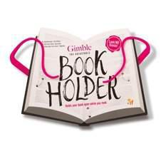 GIMBLE ADJUSTABLE BOOK HOLDER-Tickled Pink