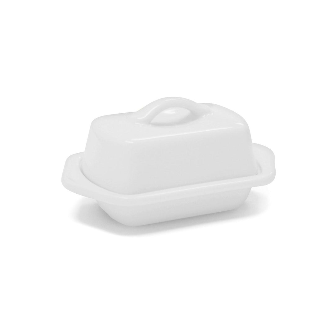 Chantal Mini Butter Dish - Gloss White