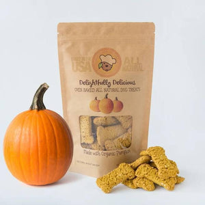 Oven Baked Organic Pumpkin Dog Treat
