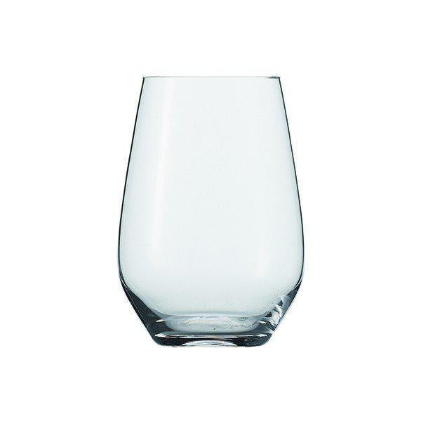 FORTESSA UNIVERSAL TUMBLER GLASS 18.6OZ - 8pk stemless wine glass