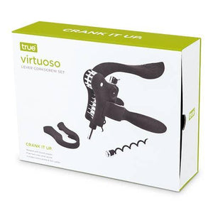 Virtuoso Lever Corkscrew Set by True
