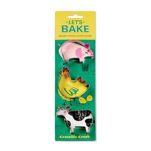 Kids Cookie Cutter Set - Barnyard