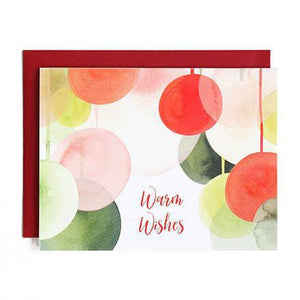 Joyful Wishes Watercolor Holiday Greeting Cards