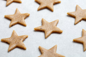 Mrs. Anderson's Baking Crinkle Cookie Cutter, Star, Set 5