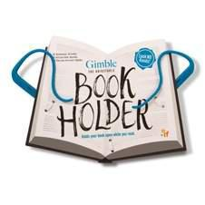 GIMBLE ADJUSTABLE BOOK HOLDER-TRUE BLUE