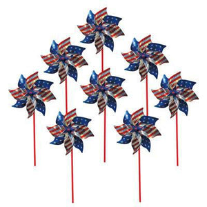 Stars and Stripes Pinwheel