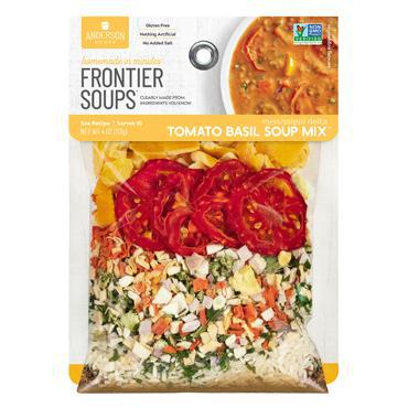 Frontier Soups: Mississippi Delta TOMATO BASIL SOUP