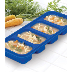 HIC Kitchen Prep-N-Freeze Portion Tray, 6oz