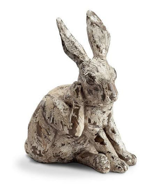 Scratching Rabbit Garden Sculpture