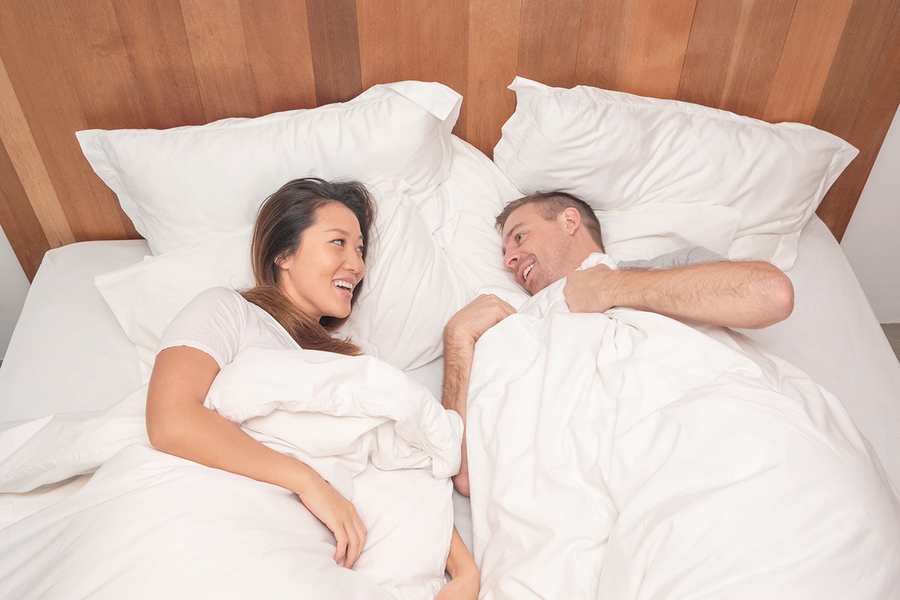 Why You Should Be Sleeping with Two Duvets on One Bed