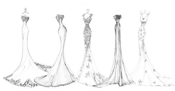 The Ultimate Guide To The Different Types Of Wedding Dresses