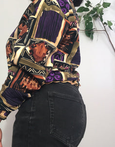 90's Vintage Kamikaze Zip Up Jacket
