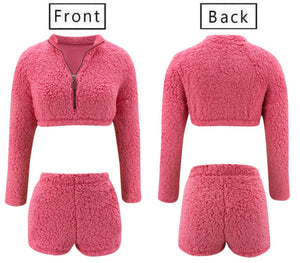 Pink Teddy 2pc Set