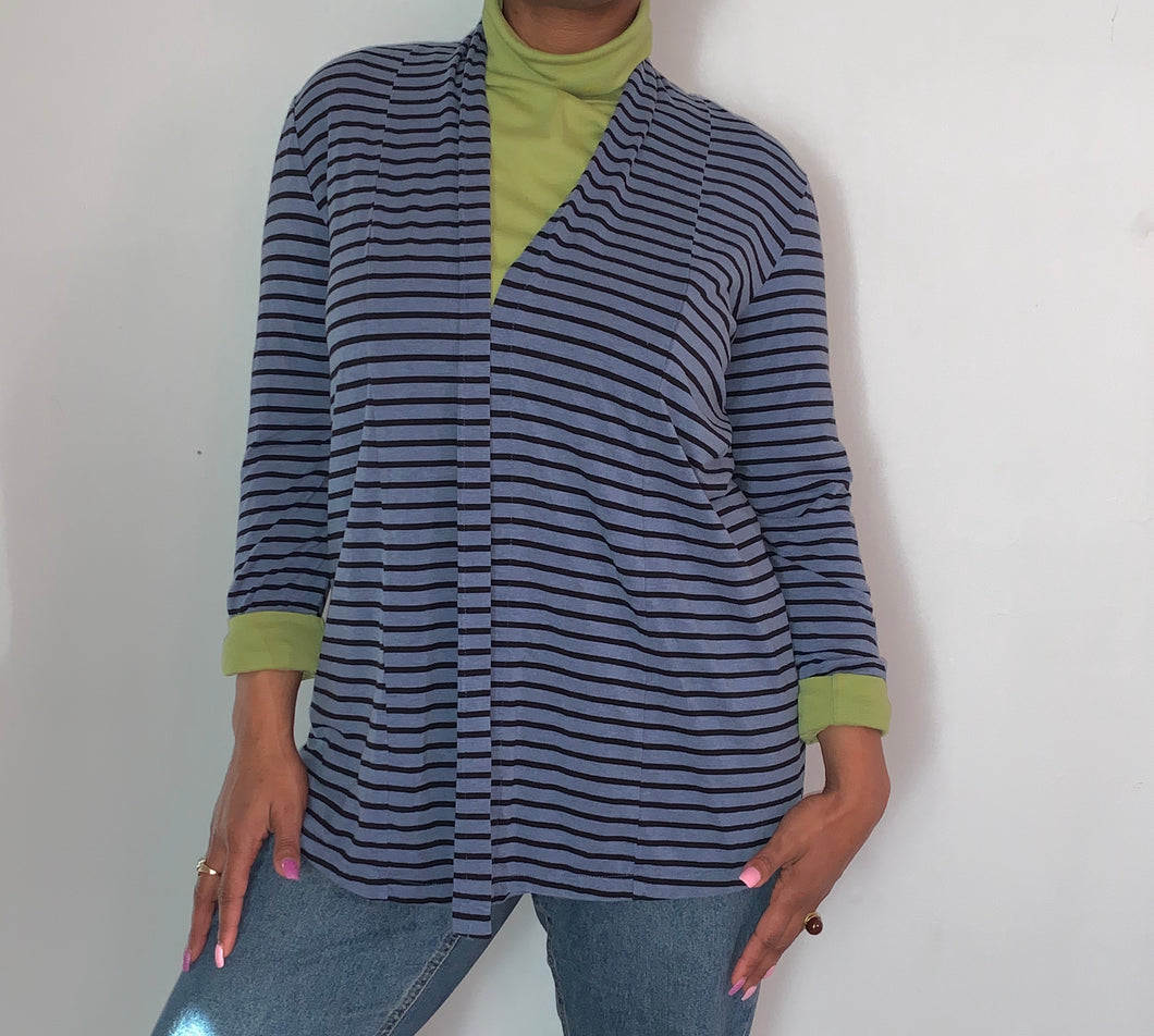 Blue L.L Bean Cardigan