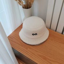 Load image into Gallery viewer, On Off Plush Teddy Bucket Hats