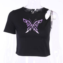 Load image into Gallery viewer, Butterfly Effect Chain Shirt