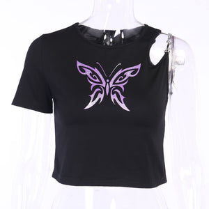 Butterfly Effect Chain Shirt