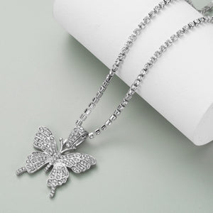 Blingy Butterfly Chain