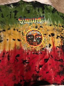 Vintage Thrifted Tie-dye Sublime T-shirt