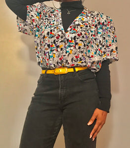 Vintage 90's Abstract Shirt