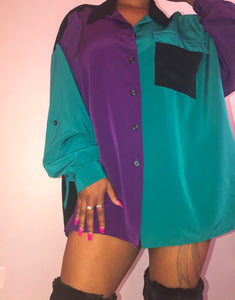 This or That Vintage 90s Top